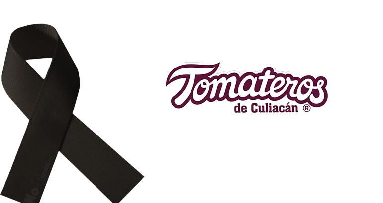 condolencias - equipo de béisbol club tomateros de culiacán